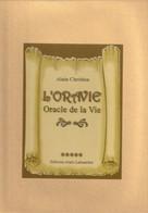 COFFRET L'ORAVIE ORACLE DE LA VIE D'ALAIN CHRETIEN 1 LIVRE+31 CARTES - Esotérisme