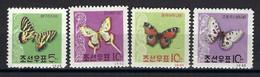 ⭐ Corée Du Nord - YT N° 369 à 372 **  - Neuf Sans Charnière - Thématique Animaux - 1962 ⭐ - Korea (Noord)