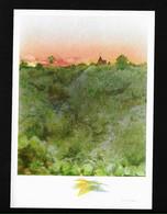 La Creuse à Ceaulmont CP D'après Aquarelle De Jean Trousselle / Illustrateur - Chateauroux