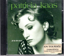 CD Patricia KAAS Je Te Dis Vous - Other - French Music