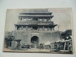 CPA / Carte Postale Ancienne / CHINE / Beijing - PEKIN  -  Porte Hatamen Près Des Légations - China