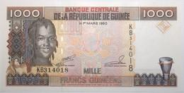 Guinée - 1000 Francs Guinéens - 1998 - PICK 37 - NEUF - Guinea