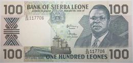 Sierra Leone - 100 Leones - 1989 - PICK 18b - NEUF - Sierra Leone