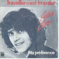 "45 Tours SP - JULIEN CLERC  - PATHE 14605 -  "" MA PREFERENCE "" +  1 ( 2ème Pochette ) - Other - French Music"