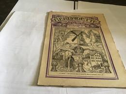 Bernadette Rare Revue Hebdomadaire Illustrée  Paris 1926 La Farine Le Moulin à Eau Chez Les Romains Le Moulin à Vent En - Bernadette