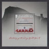 GIBRALTAR 2018 MILITARY WAR MEMORIAL M/SHEET MNH - Gibraltar