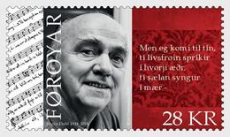 DANMARK Foroyar 0926 Poète - Schriftsteller