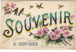 52   Saint  Dizier   -   Un Souvenir - Saint Dizier