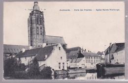 OUDENAARDE.   PORTE DES PRAIRIES.  EGLISE  SAINTE - WALBURGE - Oudenaarde