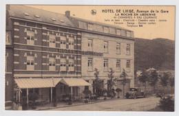 HOTEL DE LIEGE , AVENUE DE LA GARE  LA ROCHE EN ARDENNE , 40 CHAMBRES A EAU COURANTE - La-Roche-en-Ardenne