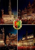 BRUXELLES   ( BELGIQUE )      MULTI-VUES - Bruselas La Noche