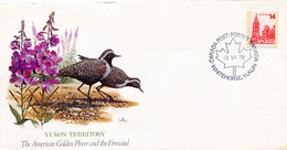 CANADA 1978 ENVELOPPE With BIRD(GOLDEN PLOVER) - Unclassified