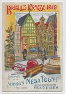 BRUXELLES  Kermesse 1910  Carte Publicitaire - Otros