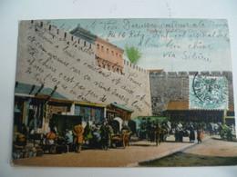 CPA / Carte Postale Ancienne / CHINE / Marché -  Peking Hsi-chili City Gate - China