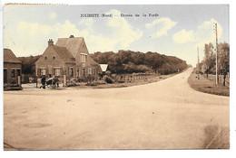 Cpa...Jolimetz...entrée De La Foret...animée...1955... - Otros Municipios