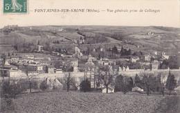 Fontaines Sur Saone (69) - Vue Générale Prise De Collonges - Sin Clasificación