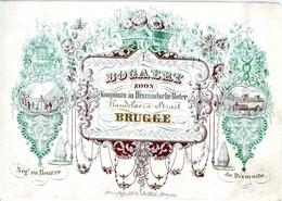DE 732 -  Carte De Commerce Du Bogaert, Koopman In Dixmudesche Boter (Neg. Au Beurre Dixmude), Bruges Imp Daveluy. - Otros