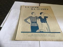 La Mode    Illustrée Journal De La Famille Magazine De Mode 1931   En L'état Sans Patron - Mode