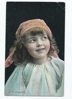 Children   Postcard Little Coquette  Edwardian Posted 1907 - Ritratti