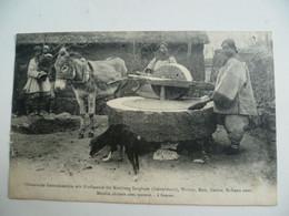 CPA / Carte Postale Ancienne / CHINE /  Moulin Chinois Avec Moteur ... à Fumier - China