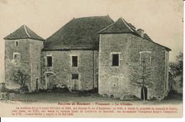 CPA 52 Haute Marne  Environs De Bourmont VRONCOURT Le Chateau - Otros Municipios