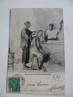 CPA / Carte Postale Ancienne / CHINE / Barbier Ambulant Chinois à Saigon 1906 - China