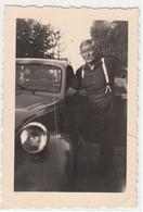 AUTO CAR VOITURE FIAT TOPOLINO - PICCOLA FOTO ORIGINALE - Coches