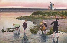 484974Spelen In De Zee. (poststempel 1904) - Andere