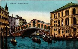 CPA AK VENEZIA Ponte Di Rialto ITALY (523379) - Venezia (Venedig)