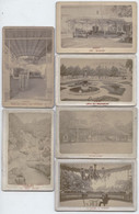 Lot De 6 Photos Anciennes  - VICHY ( Alllier ) - Photos Albuminées Montées Sur Carton - Librairie Veuve Berne Rue Sornin - Oud (voor 1900)