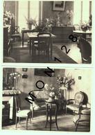 MOBILIER VINTAGE- 2 PHOTOS ORIGINALES  17x12 Cms-STUDIO F. ELISABETH A MAULE (78) - Sin Clasificación
