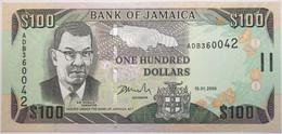 Jamaïque - 100 Dollars - 2006 - PICK 84b - NEUF - Jamaica
