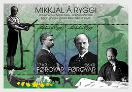 DANMARK Foroyar 0968/69 Ecrivain, Enseignant, Homme Politique - Schriftsteller