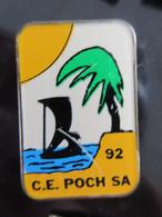 Pin's CE Poch SA 92 - Altri