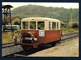 ALEMF N°11 . Draisine 2P 417 EX PLM . En Gare De SENONES - Trains