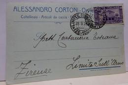 ORVIETO -- TERNI  ---  ALESSANDRO CORTONI  -- COLTELLINAIO  --ARTICOLI CACCIA - Terni