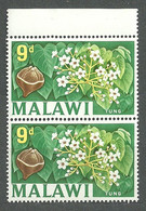 Malawi, 1964 (#7d), Local Motives Fruits Field Plants Tung Oil Tree Nuts Flowers China Burma Viet Nam - Bäume
