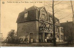 """CPA-BRUXELLES """" Pavillon Du Club Au Pont Brûlé-Cercle De La Voile """" - Navigazione"""