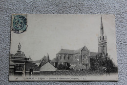 Cpa 1904, Cambrai, L'église, Nord 59 - Cambrai