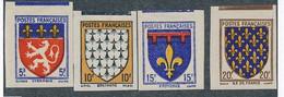 EC-285: FRANCE: Lot Avec N°572/575* Non  Dentelés - Non Dentellati