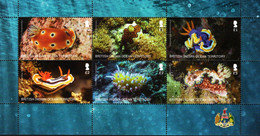 BIOT - 2021 - Sea Slugs - Mint Stamp Sheetlet - British Indian Ocean Territory (BIOT)