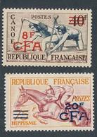 EC-288: REUNION: Lot Avec N°314**-318** - Unused Stamps