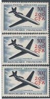 EC-290: REUNION: Lot Avec N°56** (3) - Airmail