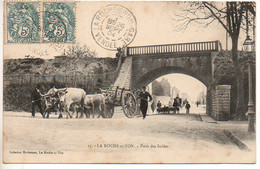 La Roche Sur Yon : Pont Des Sables (Attelage, Suivi D'un Troupeau, Suivi D'une Calèche) - La Roche Sur Yon
