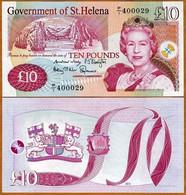 Saint Santa Helena 10 Pounds ND 2012 P 12 UNC - Saint Helena Island