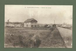 CARTE POSTALE 85 VENDEE ILE DE NOIRMOUTIER BARBATRE ENTREE DU BOURG - Ile De Noirmoutier