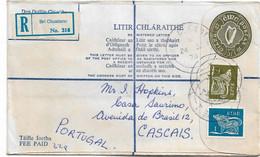 Ireland , Eire ,  1979 , Stationery 37 P ,  Registration Label Bri Chualann , Bré I Postmark - Enteros Postales