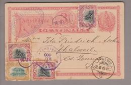 CH Heimat ZH Thalweil 1903-06-21 Ganzsache Aus Guatemala - Briefe U. Dokumente