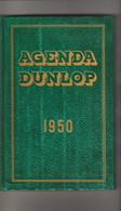 - Très Bel Agenda Cartonné 245mm X 160mm Année 1950 Usine DUNLOP  Neuf - Altri