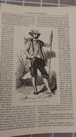 Affiche (dessin) - Type Du Voyageur En SUISSE - Manifesti